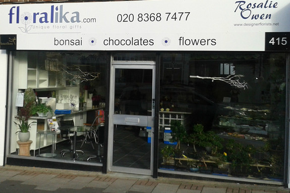Floralika New Shop Front - 415 Oakleigh Road North