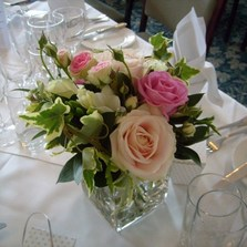 Wedding Flowers - Table Centres